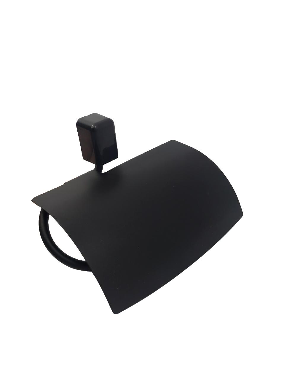 Kit para Banheiro Preto com Porta-shampoo Città Black
