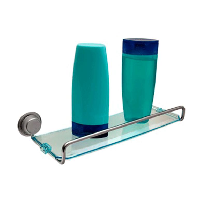 Porta Shampoo 31 cm Linha Inoox Steel Design