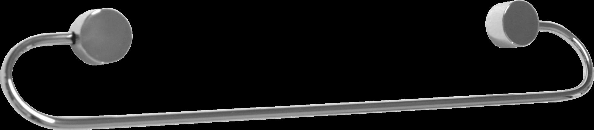 Porta Toalha 40 cm Linha Class Redondo Cromado