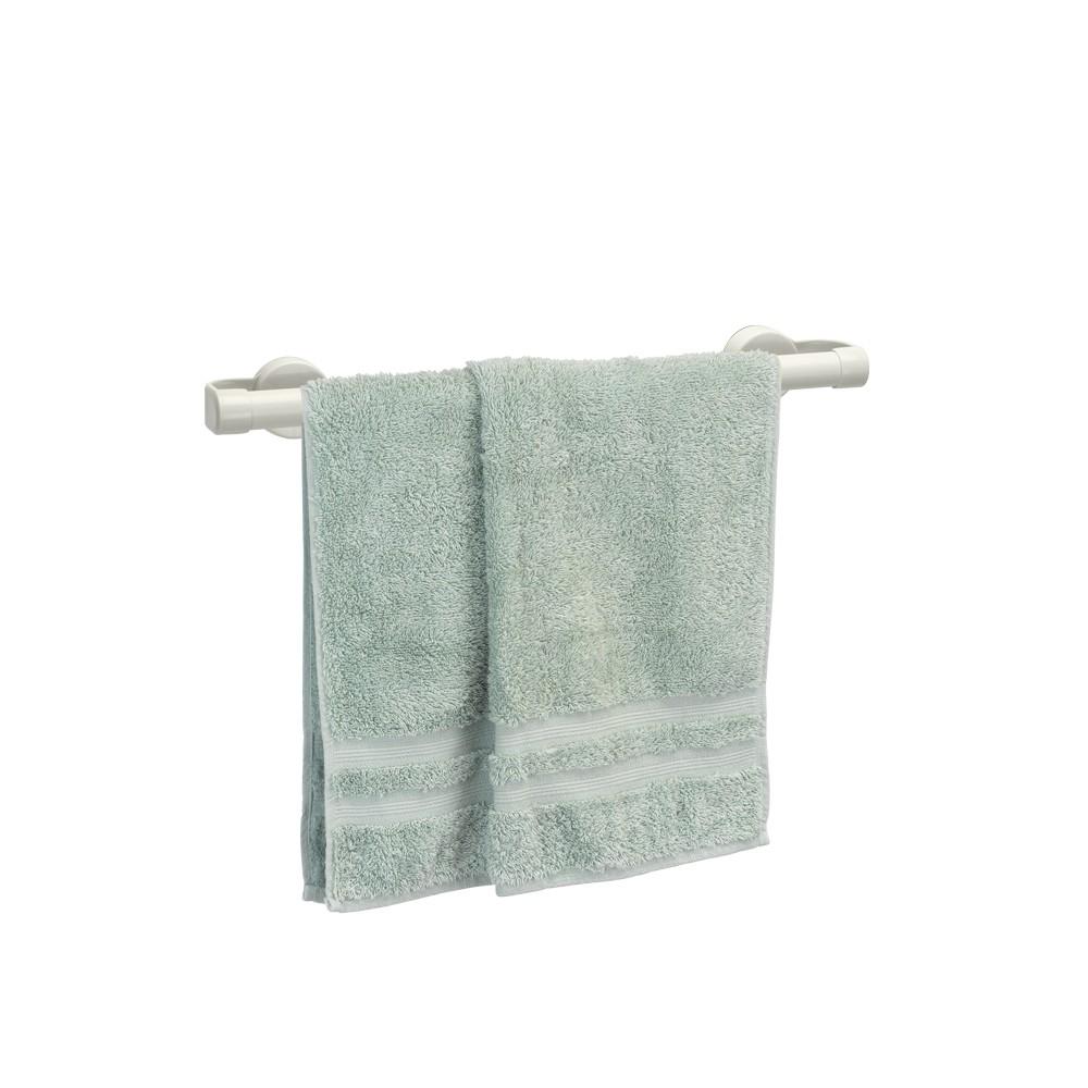 Porta Toalha de Banho com Ventosa OFF WHITE Gelo