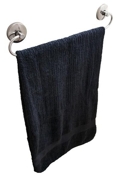 Porta Toalha Reto de 40 cm Linha Steelo Redondo