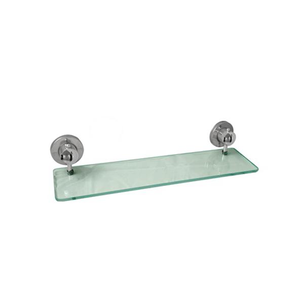 Prateleira para Shampoo 40 cm de Vidro Linha Suprema