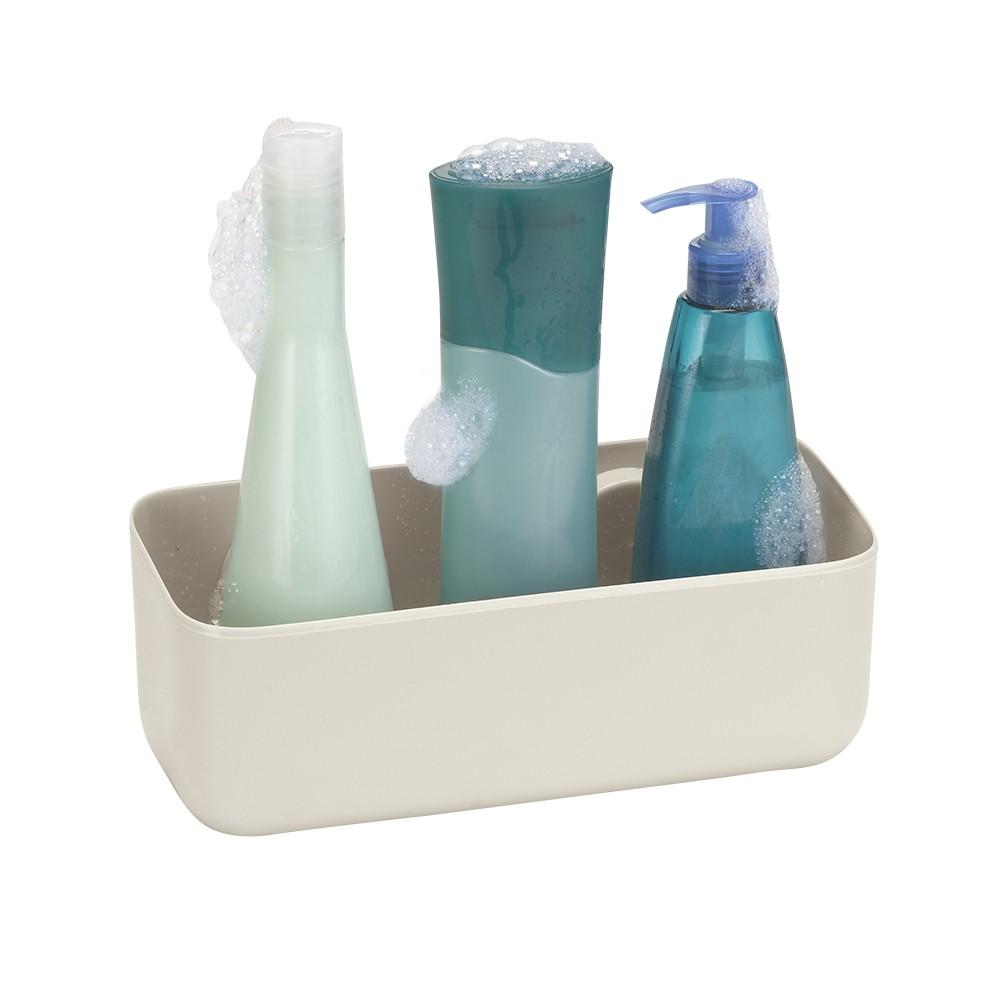 Prateleira para Shampoo com Ventosa Fixa OFF WHITE Gelo