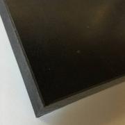 Chapa Acetal preto esp. 20 x 1.000 x 1.000 mm