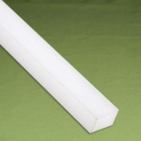 Perfil quadrado Nylon 100 x 100 x 1.000 mm