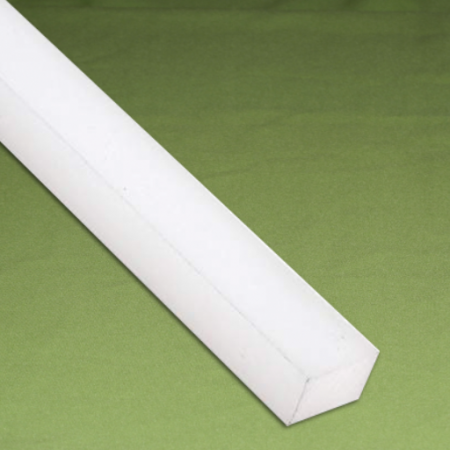 Perfil quadrado Nylon 20 x 20 x 1.000 mm