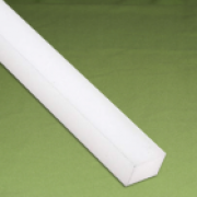 Perfil quadrado nylon 35 x 35 x 1.000 mm