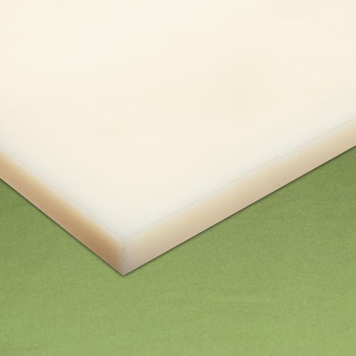 Chapa Nylon esp. 10 x 500 x 1.000 mm