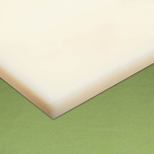 Chapa Nylon esp. 40 x 500 x 1.000 mm