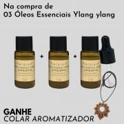 COMPROU Óleo Essencial de Ylang ylang, GANHOU Colar Aromatizador