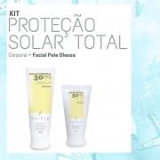 Kit Proteção Solar Total - Pele Oleosa