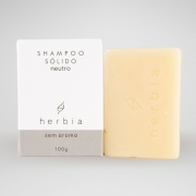 Shampoo Sólido Neutro (Sem Perfume)