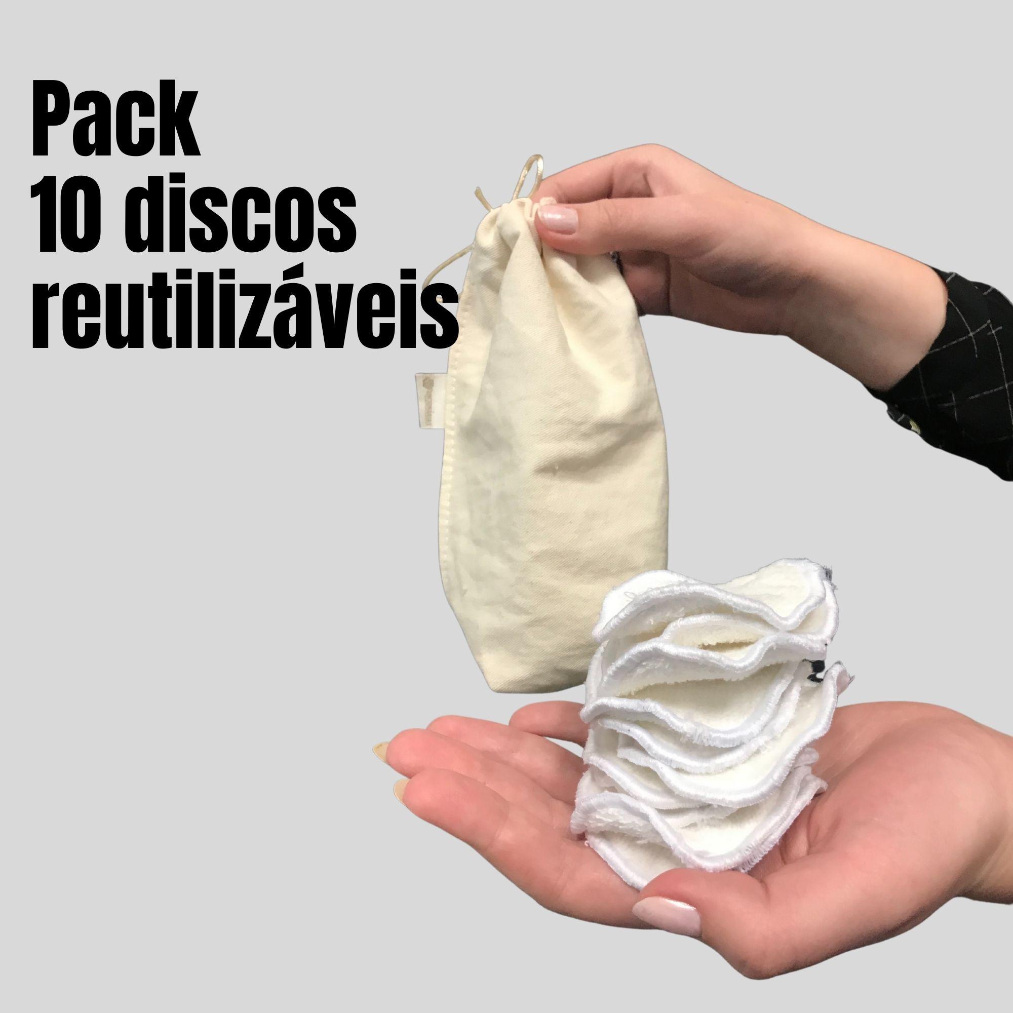 Comprou Espuma de Limpeza Facial, Levou Pack de discos reutilizáveis