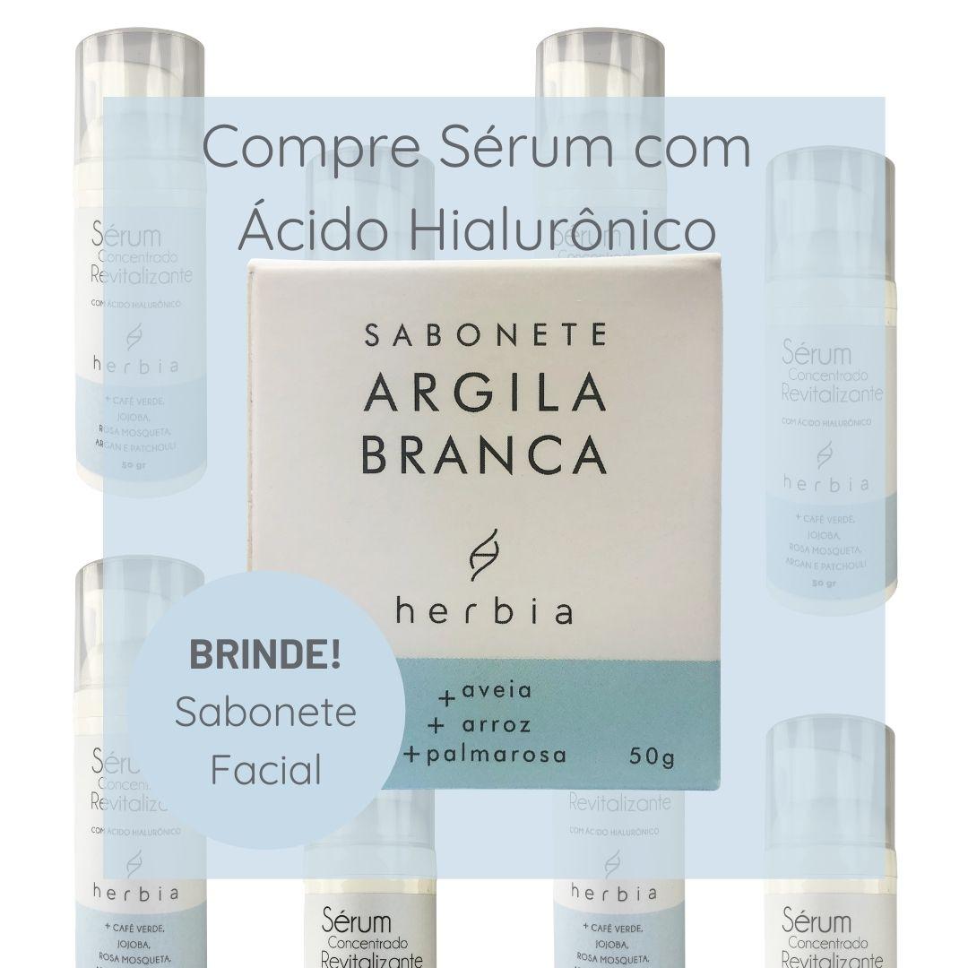 Comprou Sérum com Ácido Hialurônico, GANHOU Sabonete Facial!!!