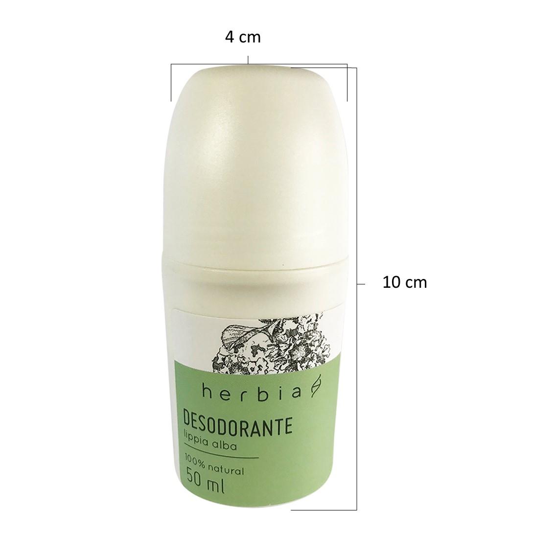 Desodorante Lippia alba   Natural   Vegano