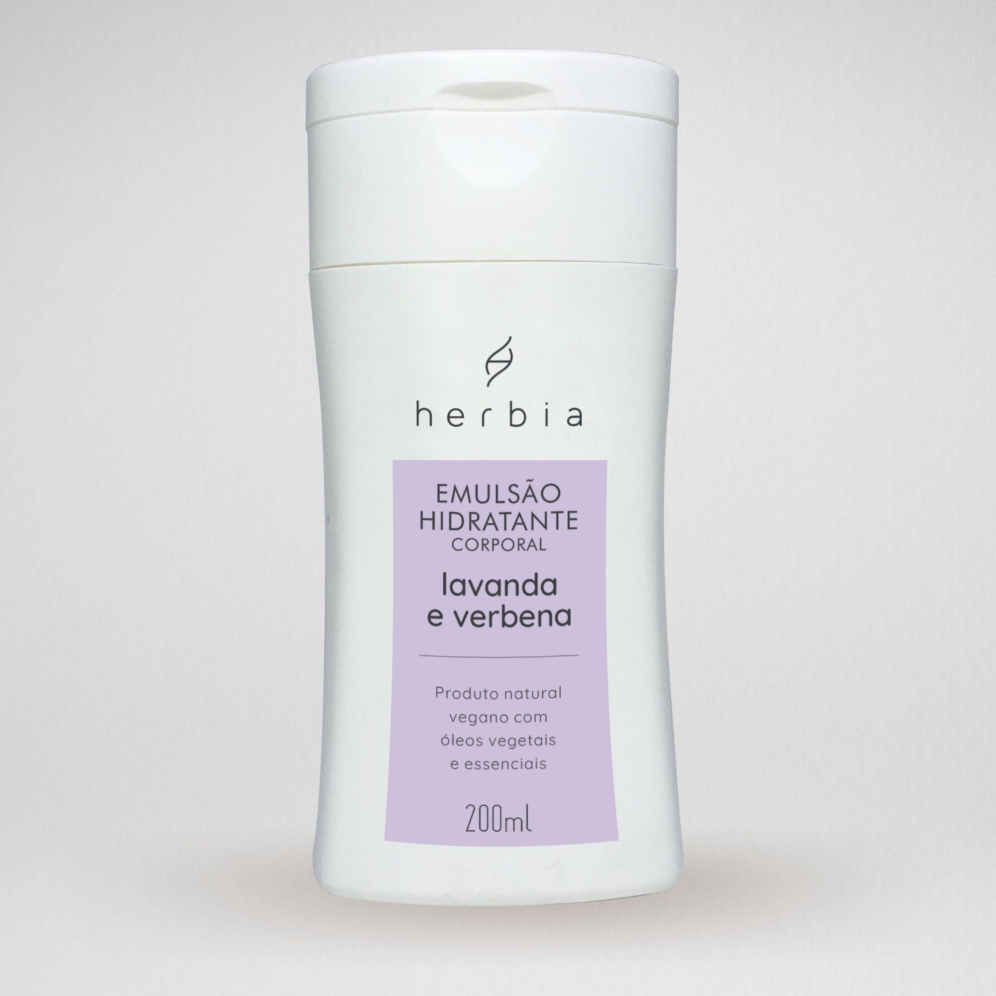 Emulsão Hidratante Lavanda & Verbena