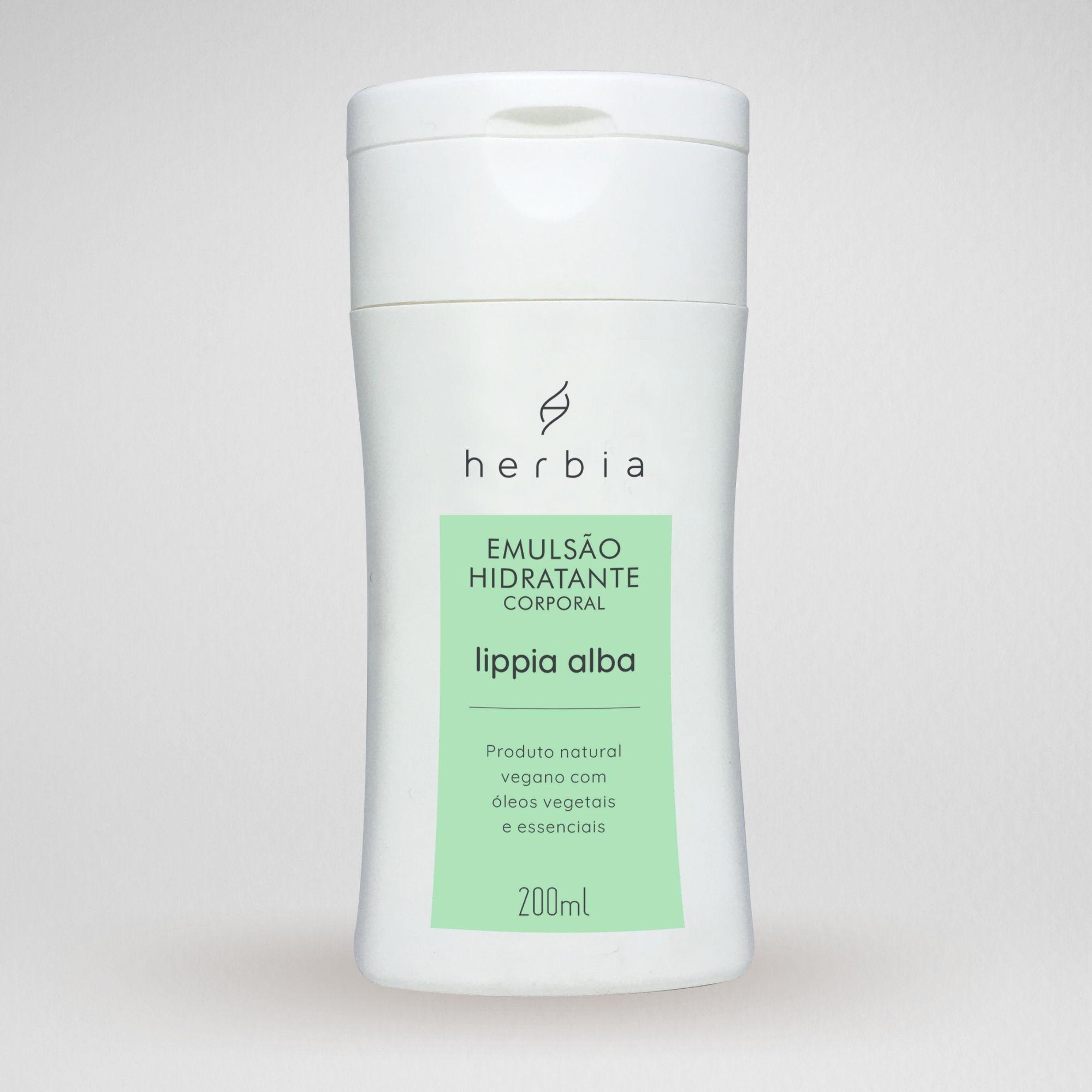 Emulsão Hidratante Lippia Alba