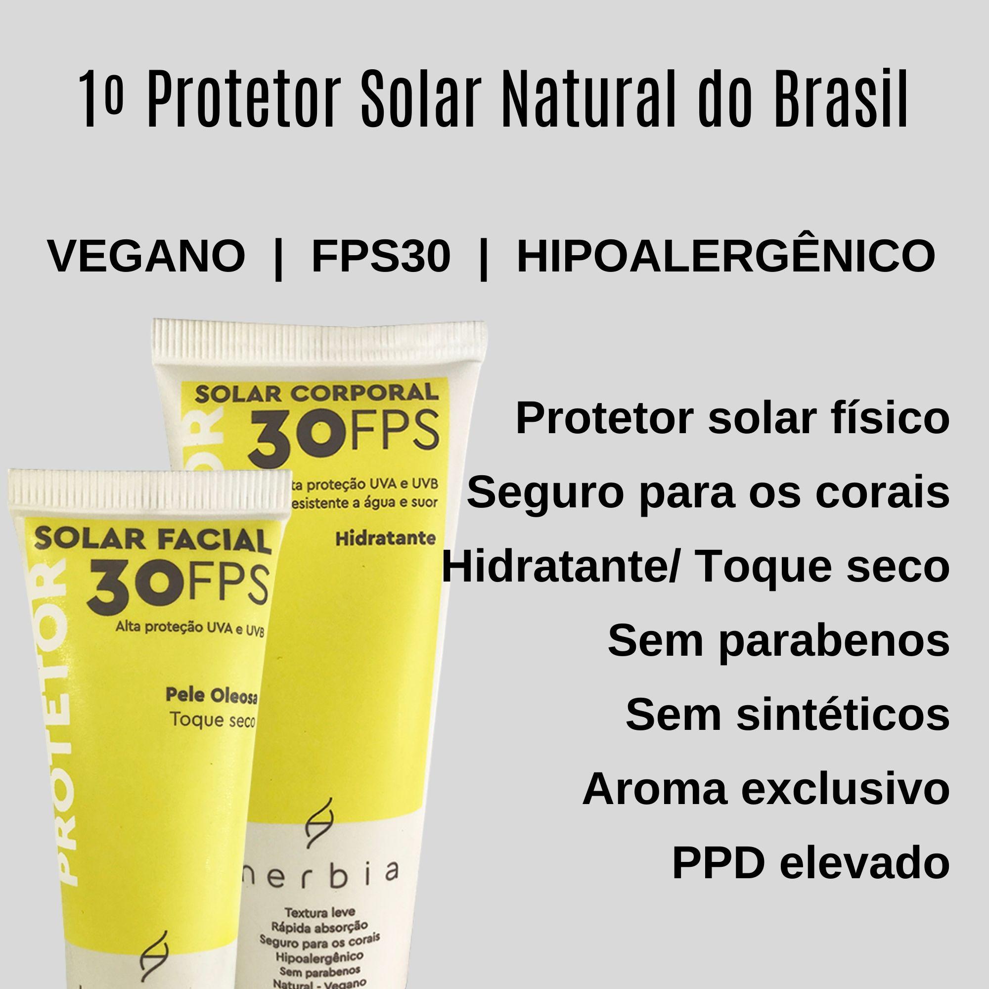 Kit Protetor Solar Natural Pele Oleosa
