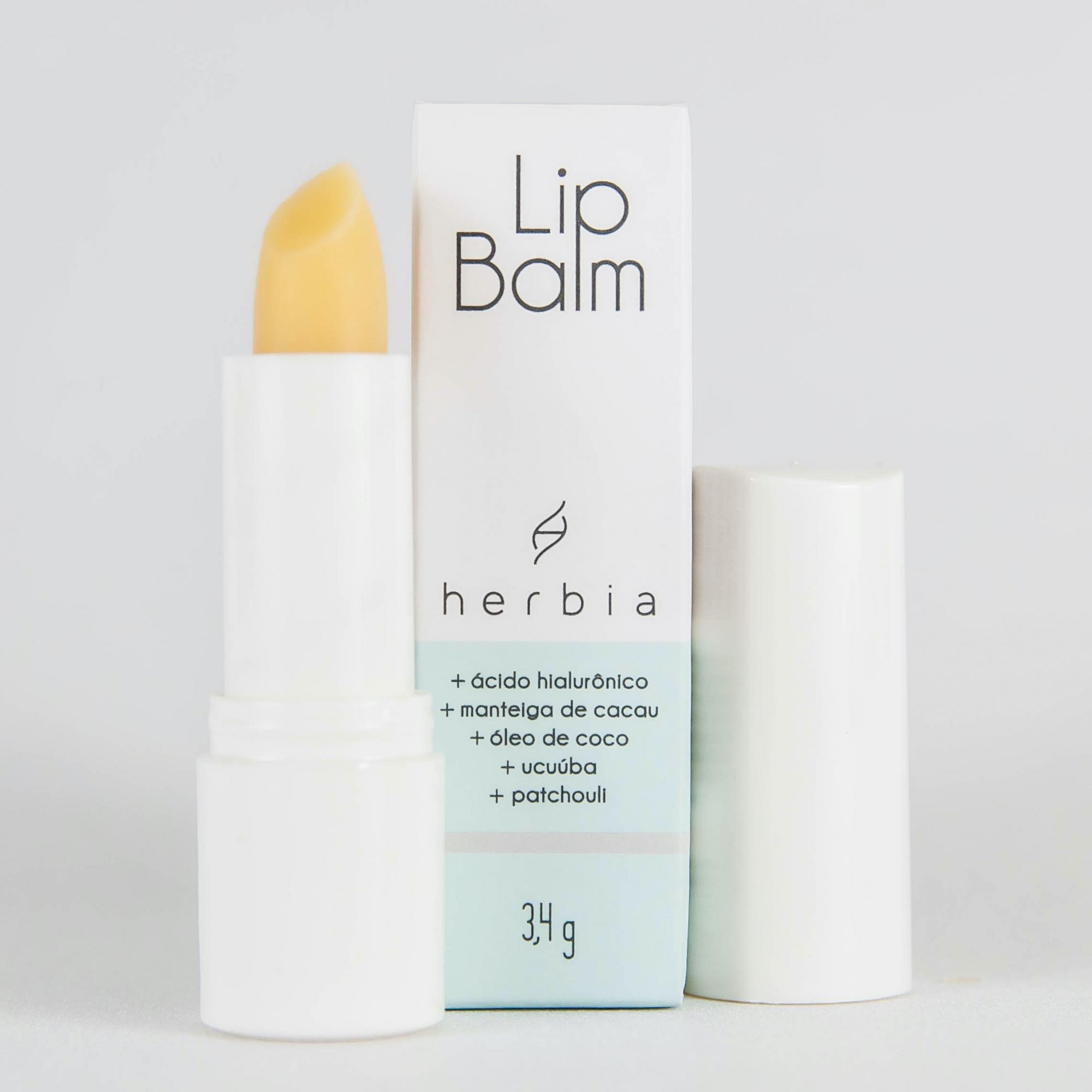 Lip Balm com Ácido Hialurônico