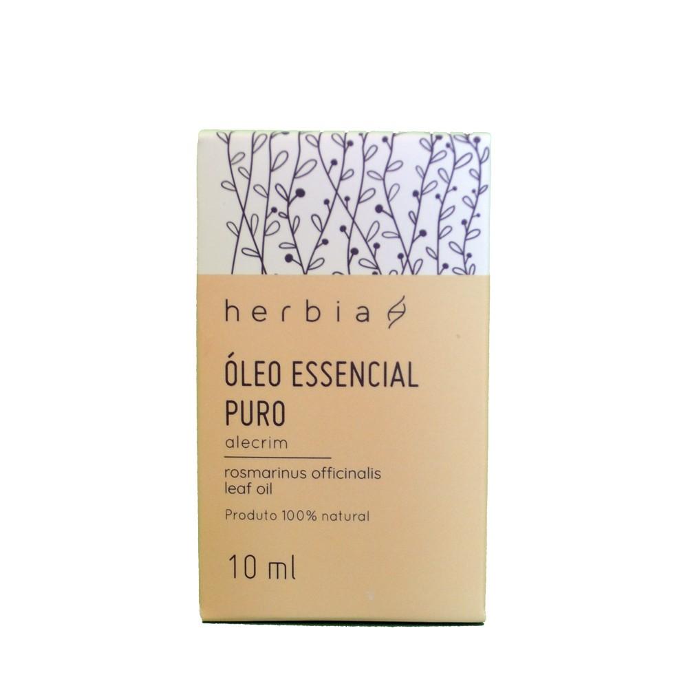 Óleo Essencial de Alecrim 10 ml Certificado IBD