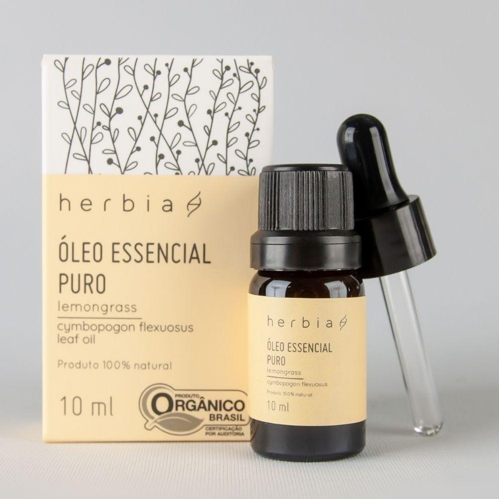 Óleo Essencial Orgânico de Lemongrass