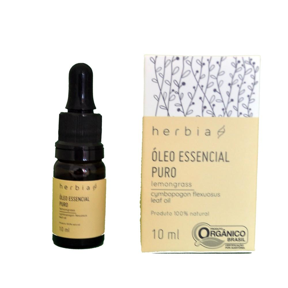 Óleo Essencial Orgânico de Lemongrass Certificado IBD