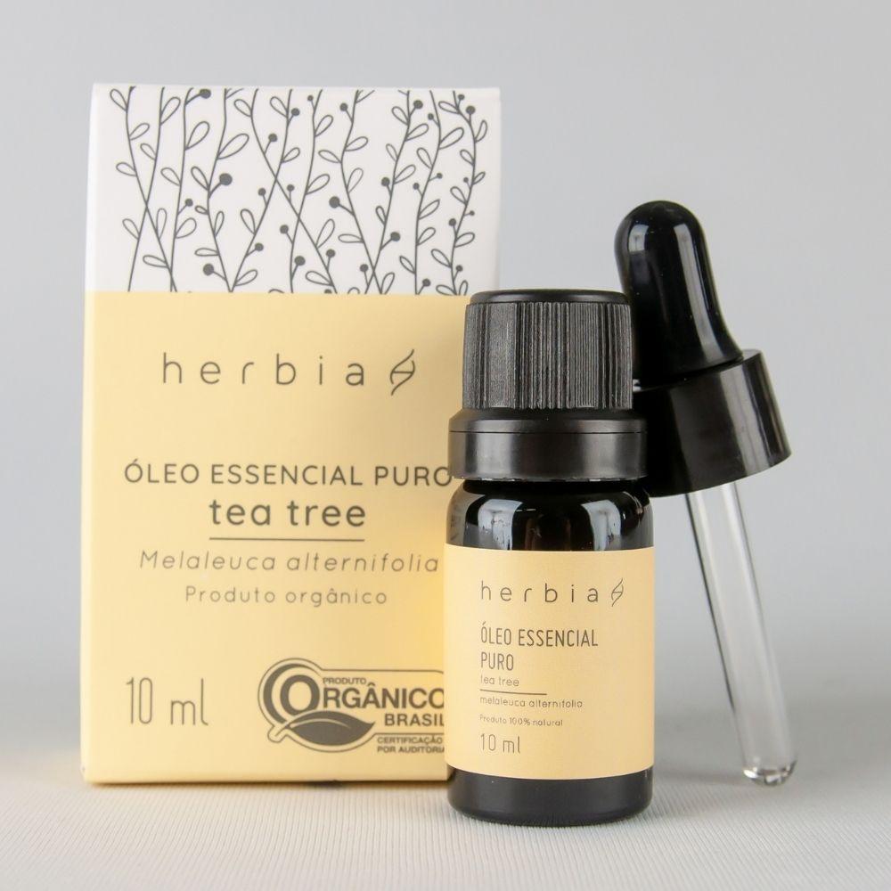 Óleo Essencial Orgânico de Tea tree (Melaleuca)