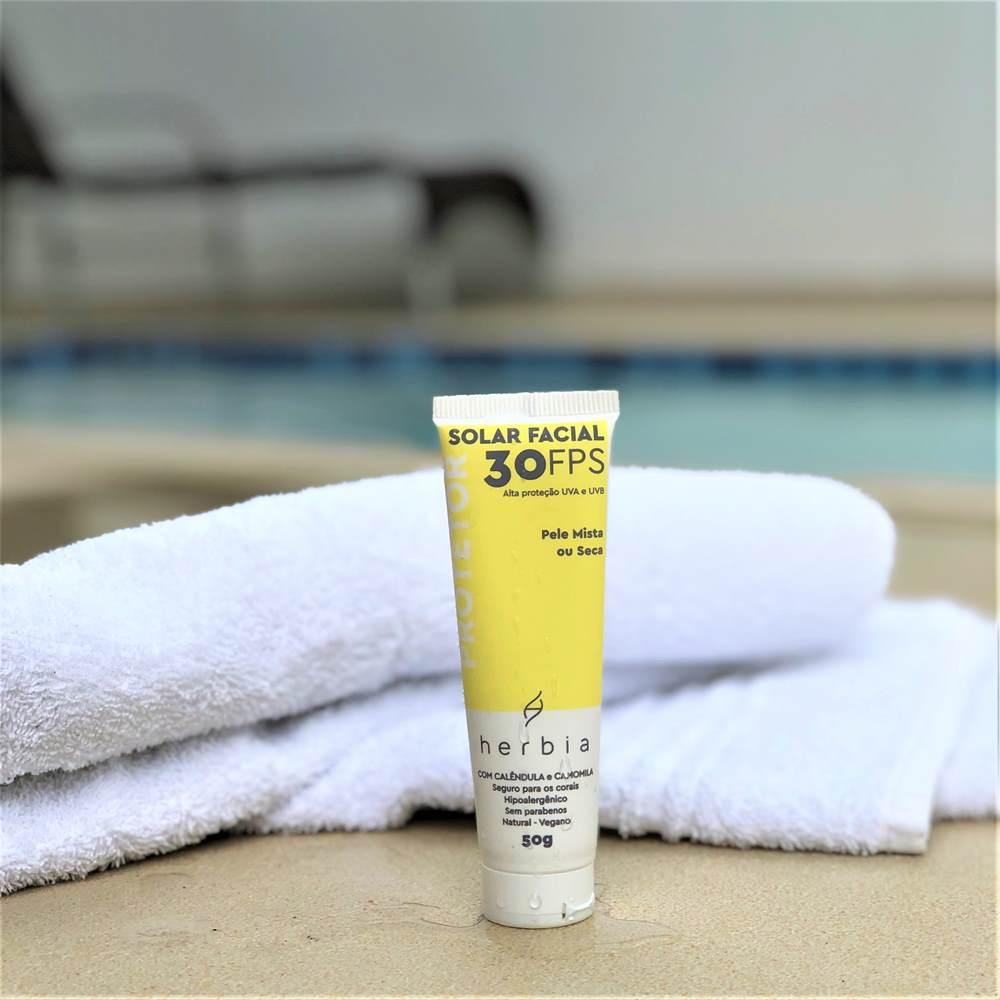 Protetor Solar Facial Pele Mista ou Seca (Normal) Certificado IBD