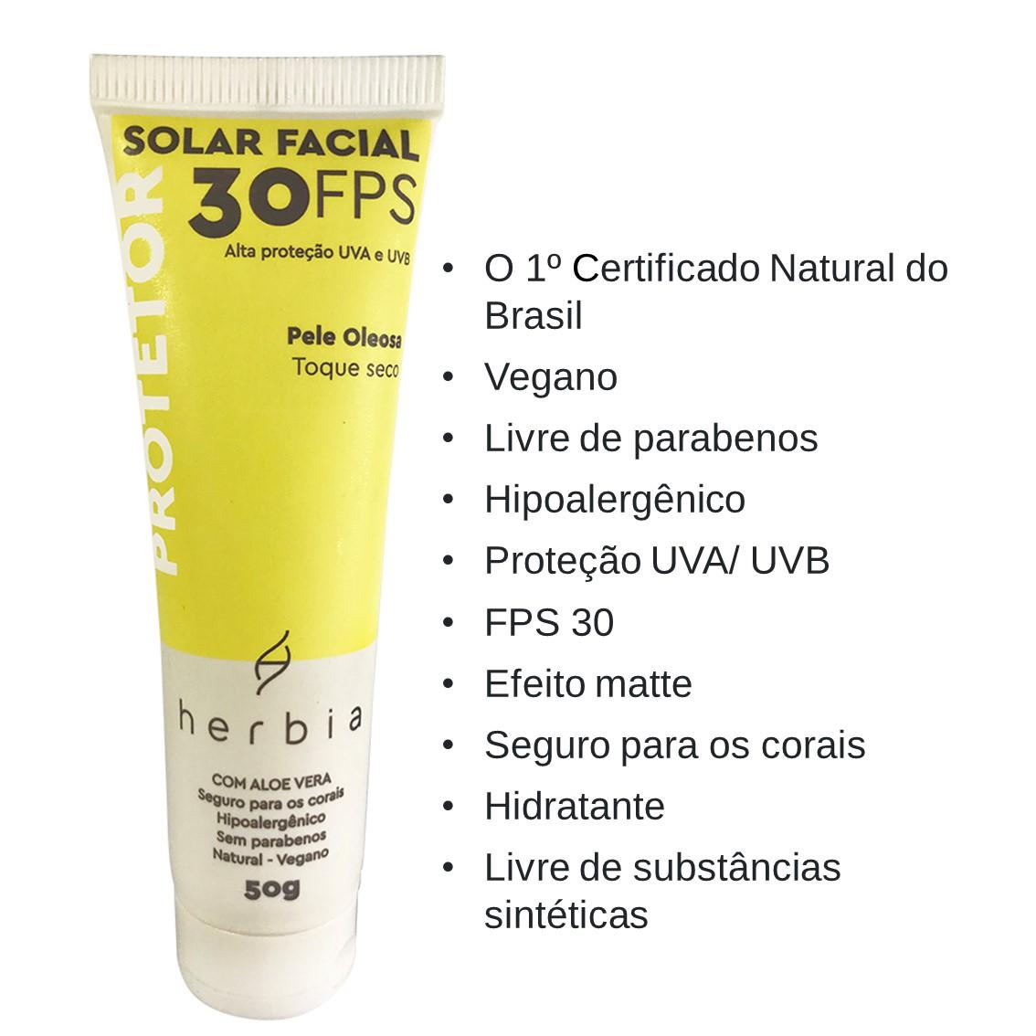 Protetor Solar Pele Oleosa