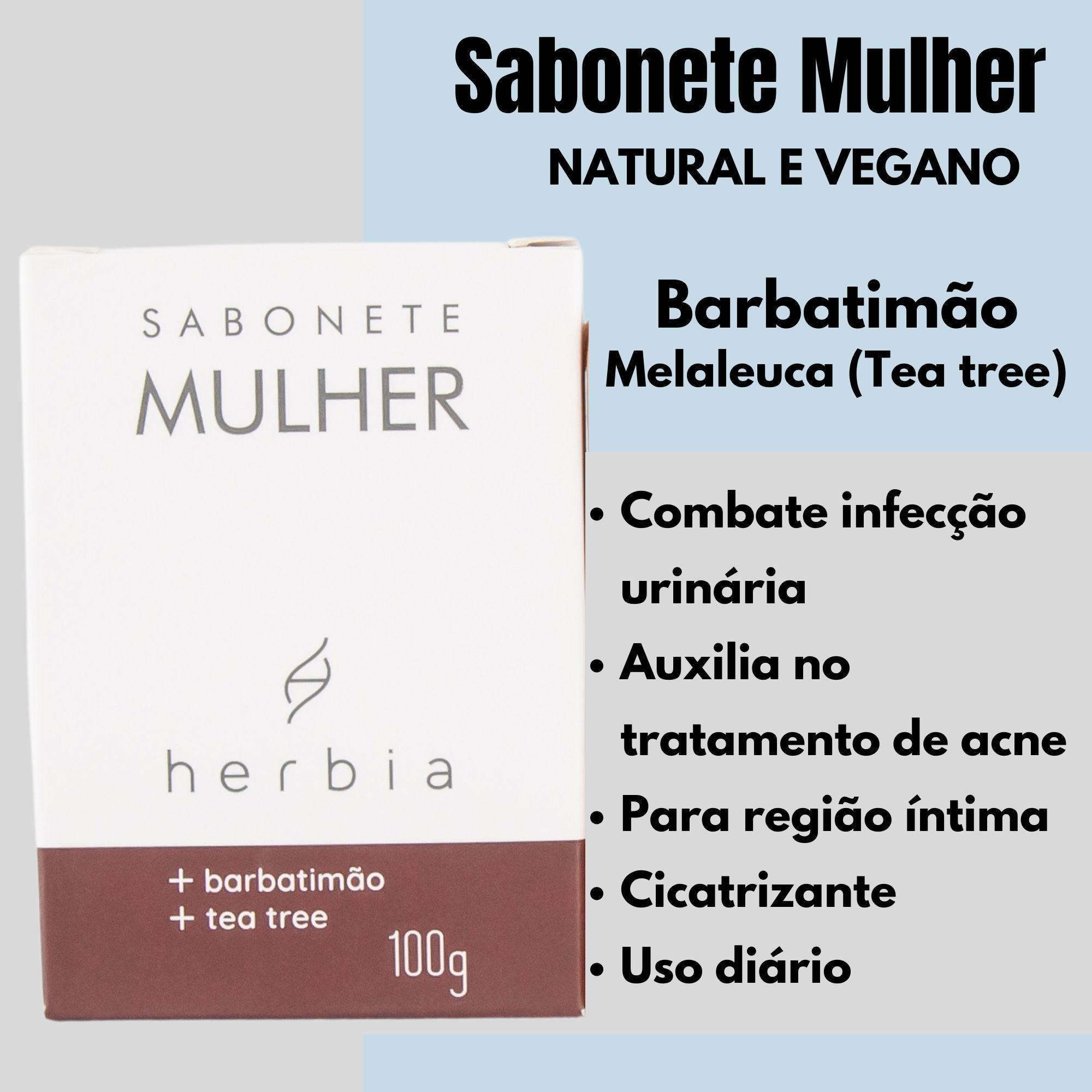 Sabonete Mulher Íntimo | NATURAL | VEGANO