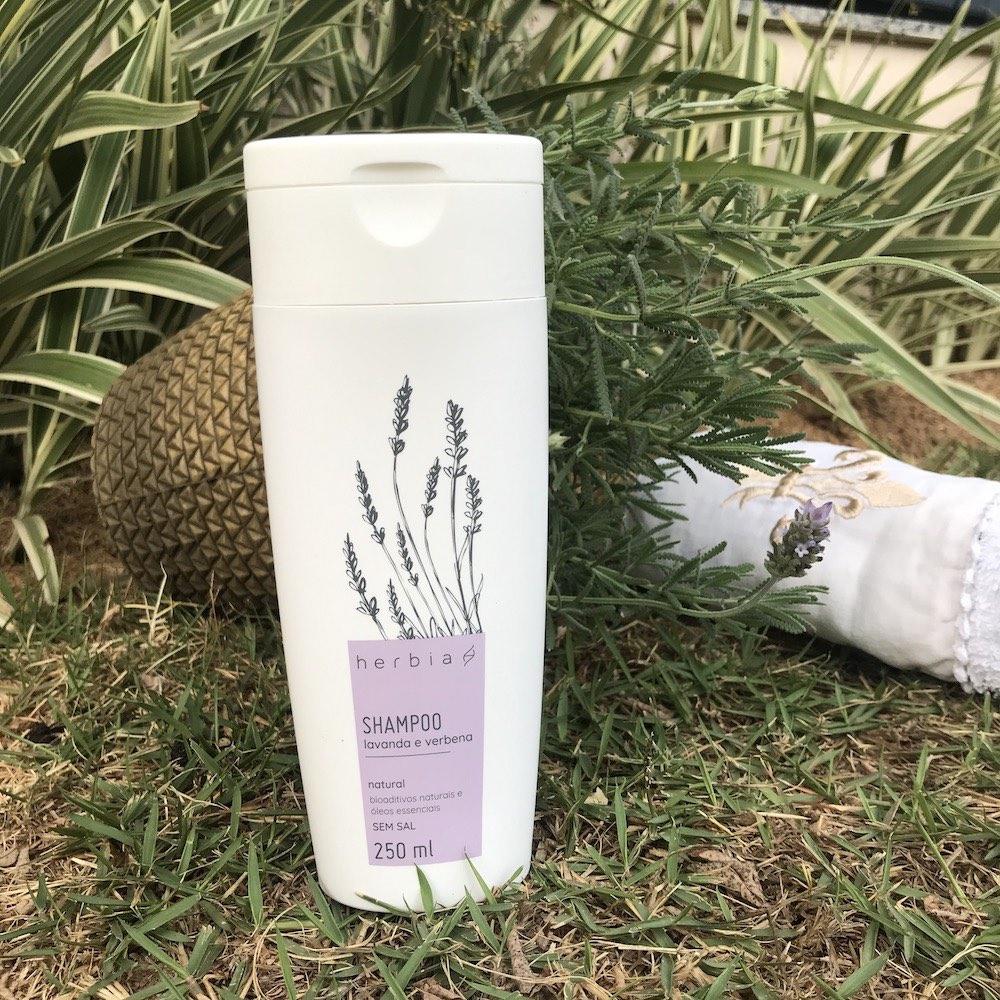 Shampoo Natural Hidratação Lavanda & Verbena