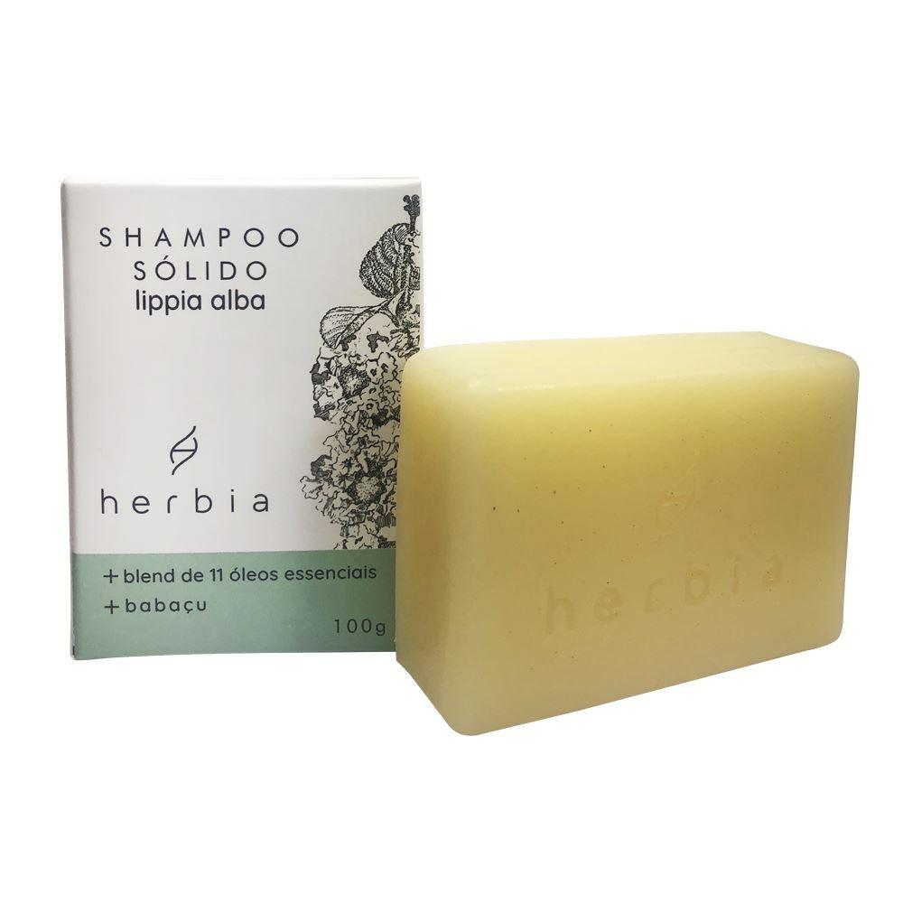 Shampoo Sólido Fortalecedor Lippia Alba