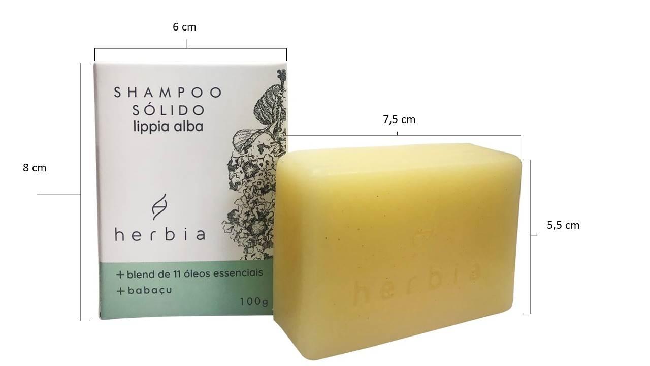 Shampoo Sólido Revitalizador Lippia Alba
