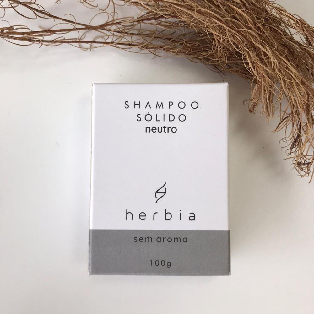 Shampoo Sólido Neutro (Sem Aroma)