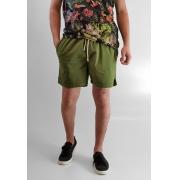 Bermuda Shorts Desert Verde Em Algodão