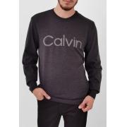 Blusa Calvin Klein Tricô Cinza