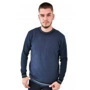 Blusa Vibrus Tricô Azul Marinho