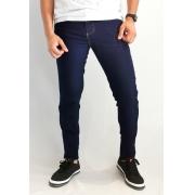 Calça Jeans Max Blue Slim Azul Marinho