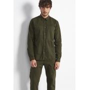 Camisa Colcci Slim Sarja Verde Militar