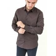 Camisa Docthos Slim Vinho