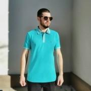 Camisa Polo Seeder Verde Piquet