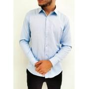 Camisa Vivacci Slim Azul