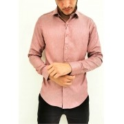 Camisa Vivacci Slim Rose