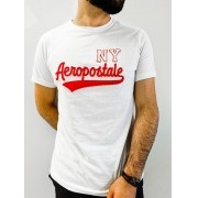 Camiseta Aeropostale Branca NY