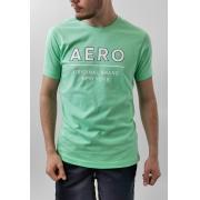 Camiseta Aéropostale Verde New York Plus Size