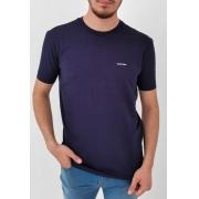 Camiseta Calvin Klein Azul Marinho Logo Básica