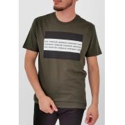 Camiseta Calvin Klein Verde Militar