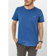 Camiseta Colcci Básica Azul MoonDust Logo