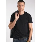 Camiseta Colcci Básica Preto Com Elastano