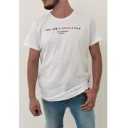 Camiseta Colcci Branco Revolution